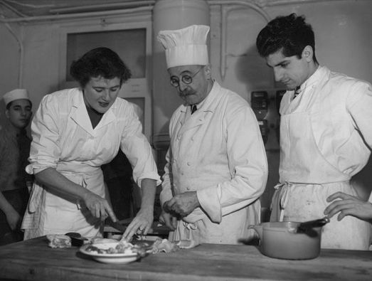 Julia Child Bugnard u školi Cordon Bleu