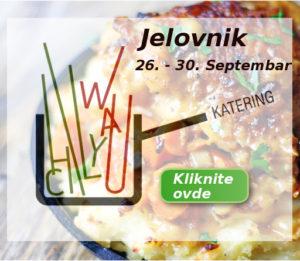 Jelovnik 26 - 30 septembar Ketering Beograd