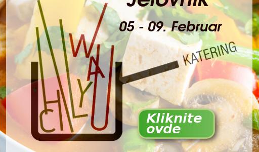 JELOVNIK  05. -09.  Februar  2018.