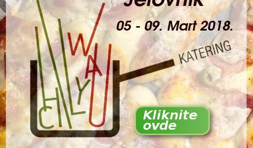 Jelovnik 05. – 09. MART  2018.